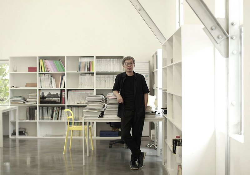 Liu Yichun, principal of Atelier Deshaus, in his studio in the West Bund of Shanghai.