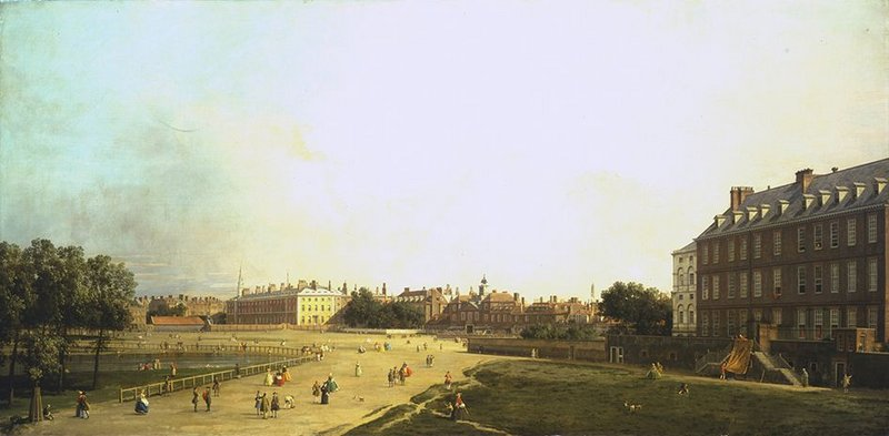 Before the changes: The Old Horse Guards.