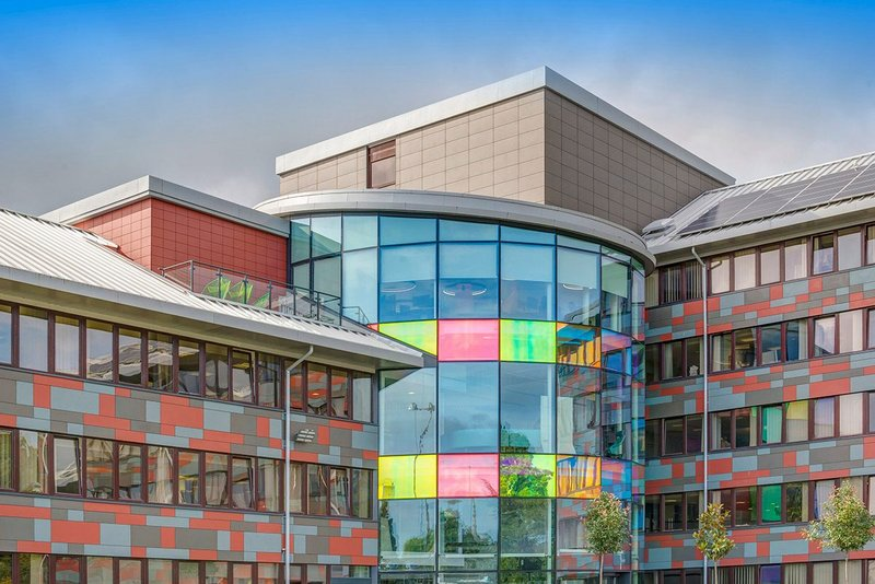 Equitone Natura cladding at the ONS Data Science Campus, which investigates the use of new data sources to help build data science capability for the benefit of the UK.