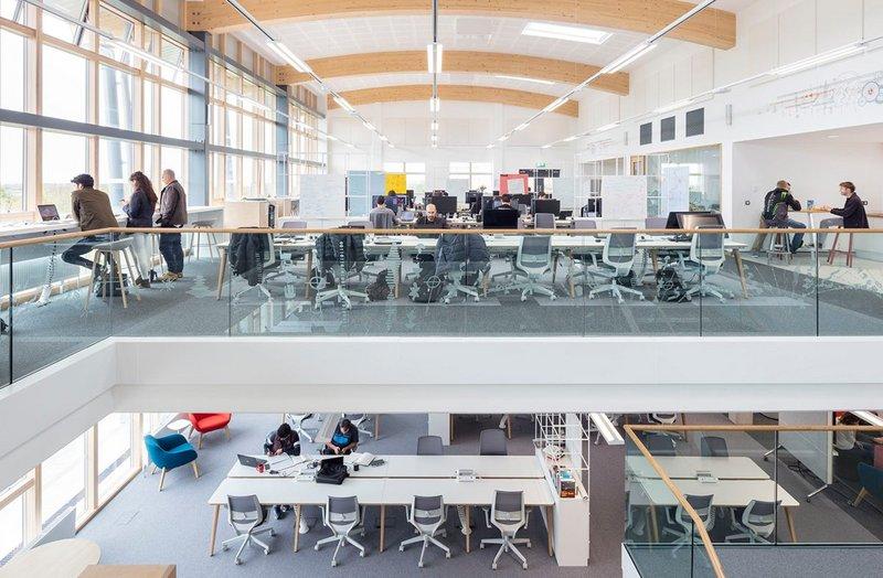 Falmouth University. BDP architects.