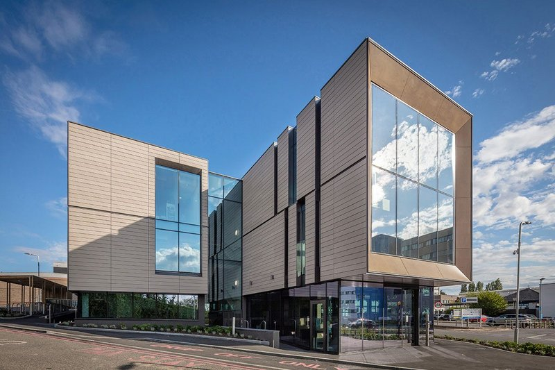 Wolfson Building, John Radcliffe Hospital, Oxford.