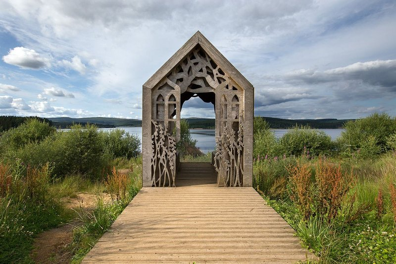 Kielder Forest was planted by unemployed people mainly from the mining and shipbuilding industries.