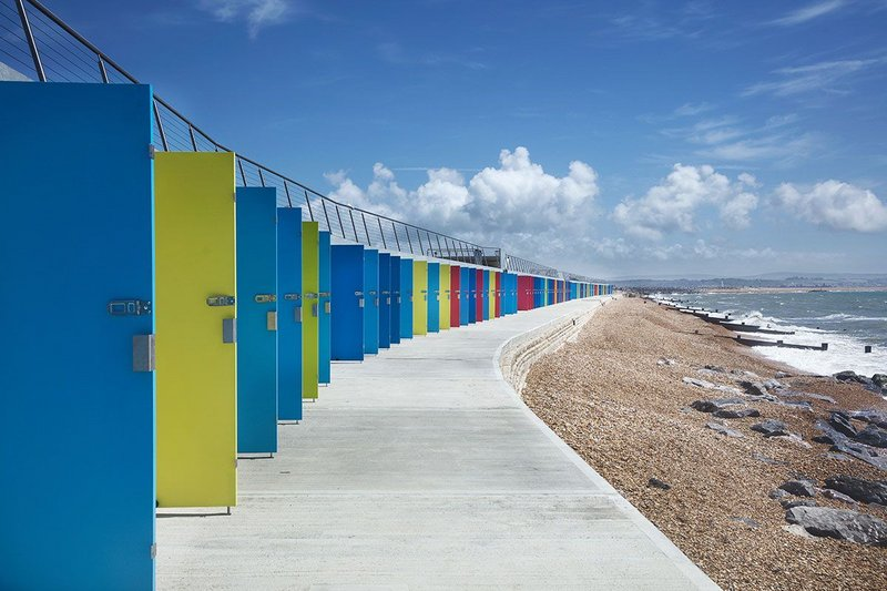 Milford-on-Sea Beach Huts and Public Realm Improvements