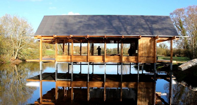 The Fishing Hut, Hampshire – Niall McLaughlin Architects. Click on the image