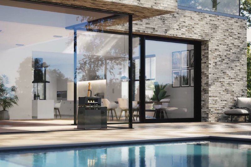 Reynaers Aluminium MasterPatio sliding doors are available in different energy levels, from non-insulated to super high insulating or suitable for passive construction.