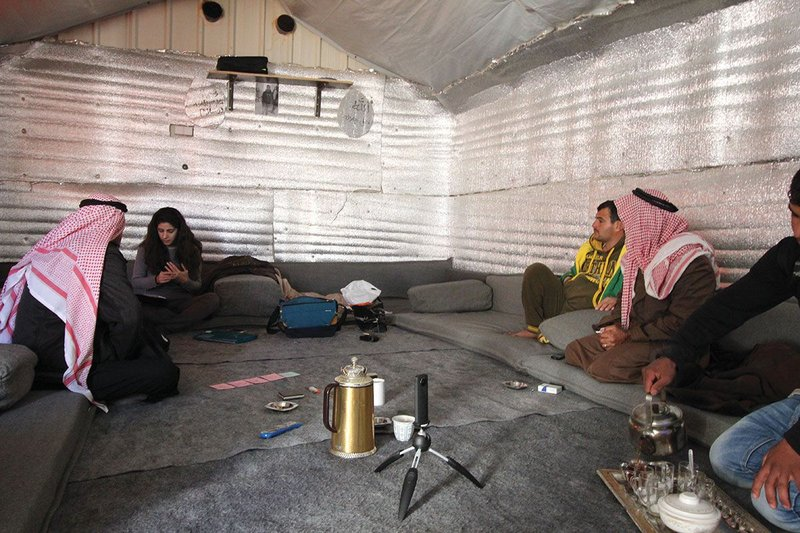 In refugee camps in Jordan, such as Azraq refugee camp, surface temperatures inside homes can rise above 48°C