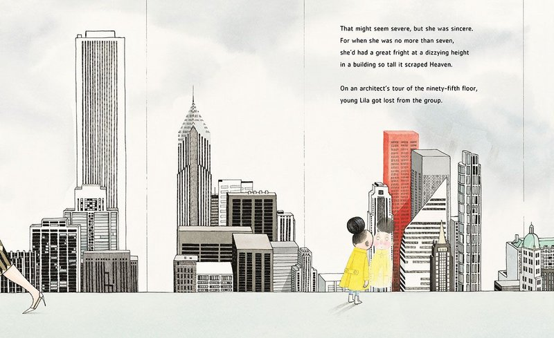 Iggy Peck, Architect by Andrea Beaty, illustrated by David Roberts (Abrams Books for Young Readers).