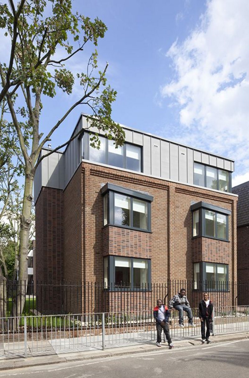 The remodelling of Liberty Fields in Camberwell, the old Royal College of Music halls of residence, into 90 studio apartments for students was a watershed project for DMA.