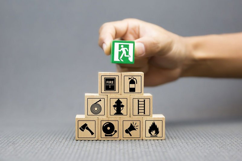 Building blocks for fire safety as just art of the story for Principal Designers. Istock eakrin ra-sadonyindee