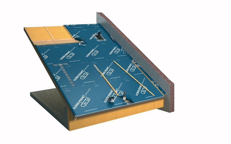 Klober's Permo extreme underlay for roofs.