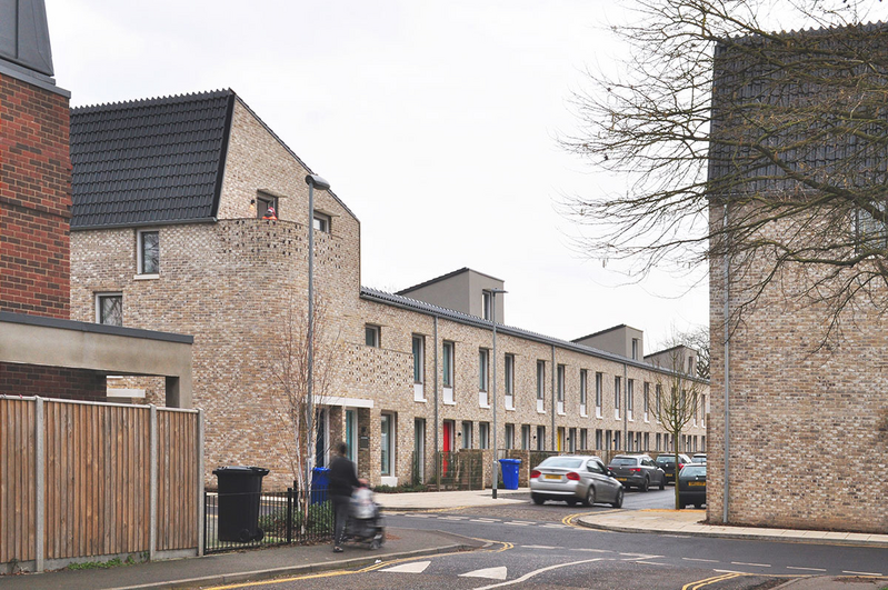 How wide should streets be? RIBA Stirling Prize-winning Goldmith Street was based on narrow streets.