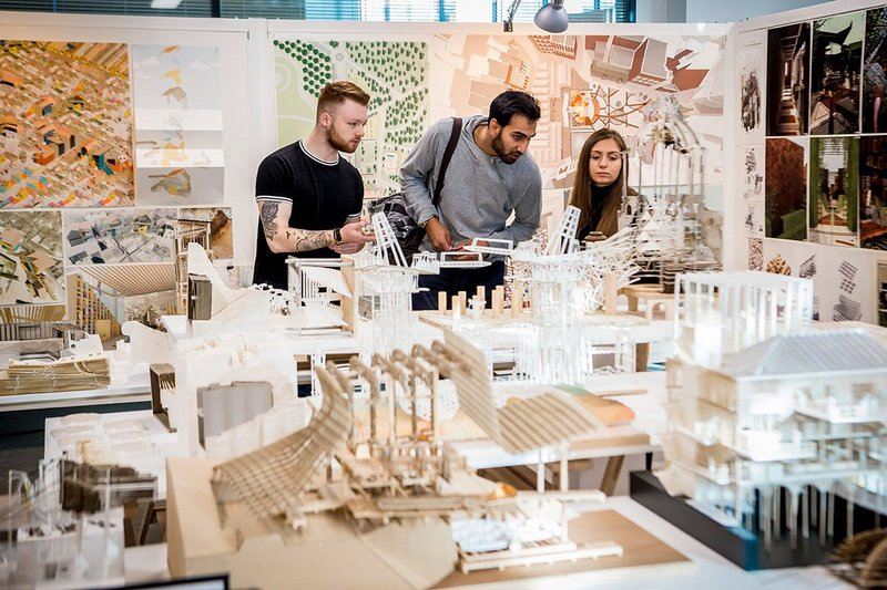 De Montfort University's Leicester School of Architecture challenges apprentices to develop a personal stake in the architectural world.