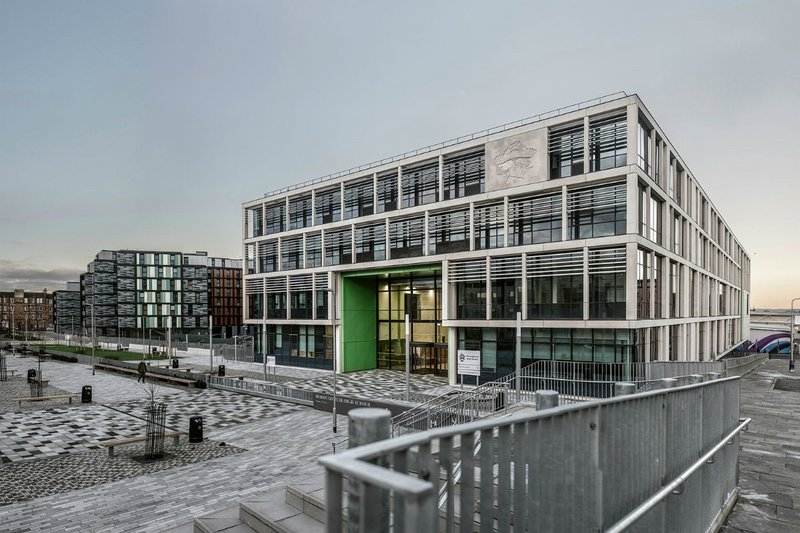 Boroughmuir High School, Edinburgh.