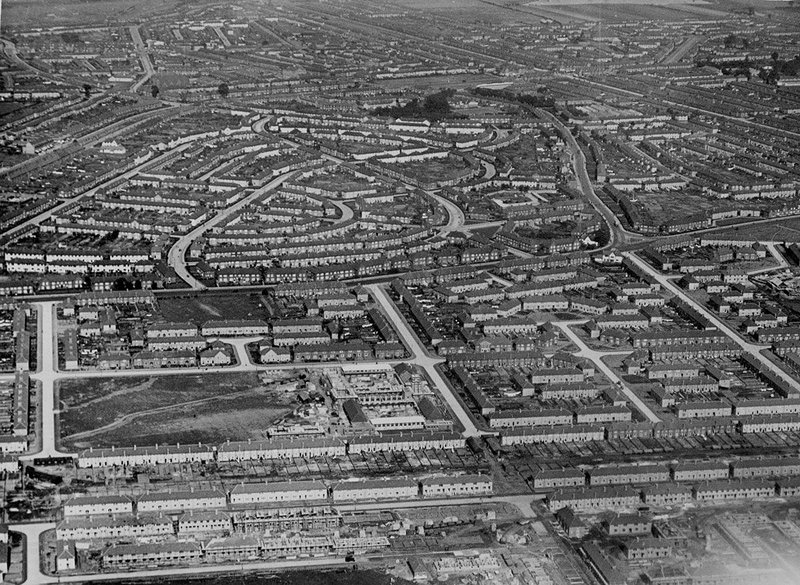 Becontree Estate, c1930.