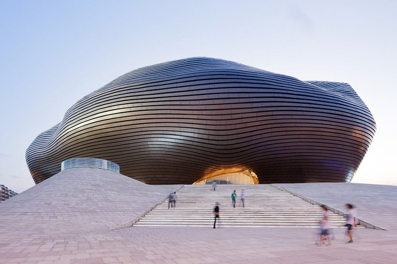 MAD Architects' Ordos Museum, completed 2011.