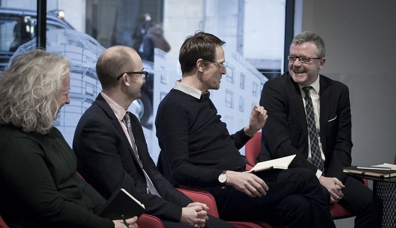 Matthew Taylor (third from left), chief executive, RSA chaired the panel debate.