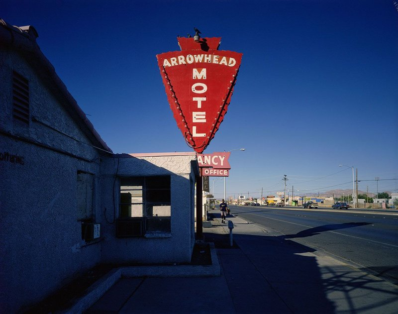 The Arrowhead Motel by Fred Sigman (1995), from the new book Motel Vegas