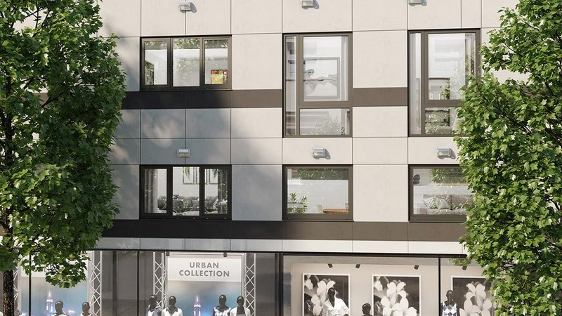 The AluK C70S 70mm aluminium window system has been specifically developed for low to mid-rise buildings in residential and commercial markets.