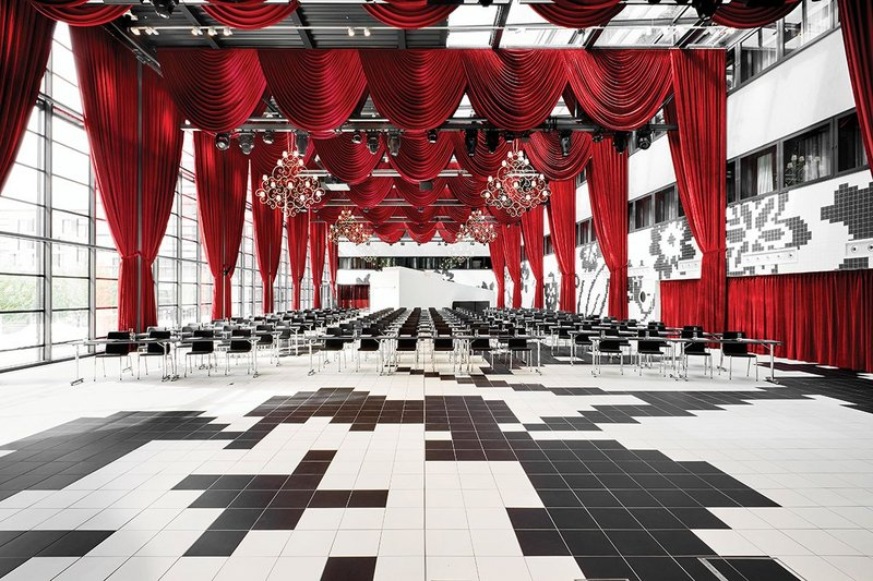 The Kameha Dome events space.