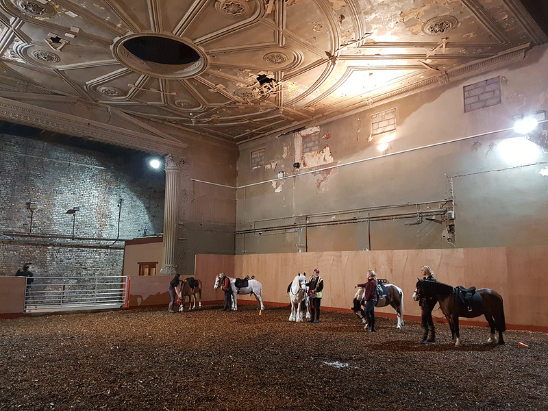 Equine theatre in the heart of Liverpool. Credit Harrison Stringfellow Architects