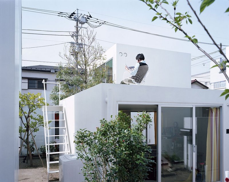 Moriyama House, Tokyo, 2005, designed by Office of Ryue Nishizawa. This will be reconstructed on a 1:1 scale within the The Japanese House: Architecture and Life after 1945 exhibition.