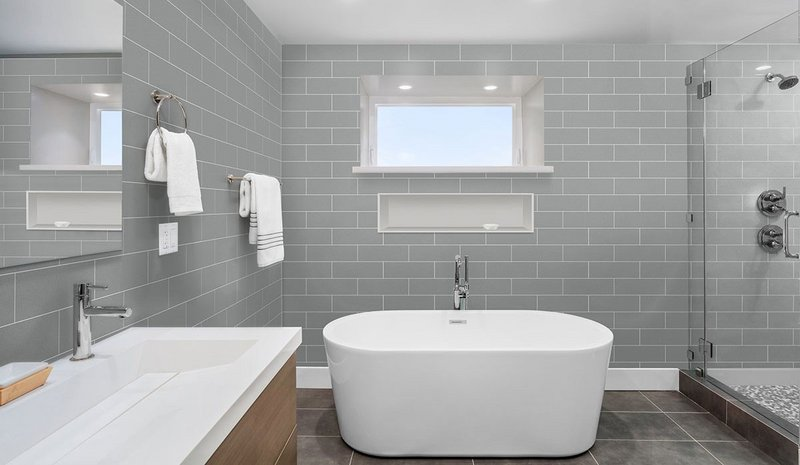 Fibo Metro Brick laminate wall panels in Aberdeen from the new Urban Collection.