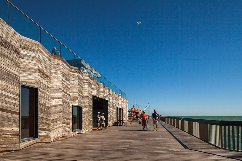 The new pier has reinvigorated Hastings' seaside promenade with a significant public amenity.