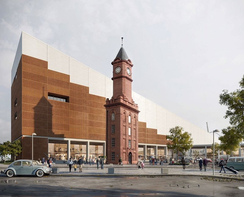 FaulknerBrowns' Middlesbrough Snow Centre proposal.