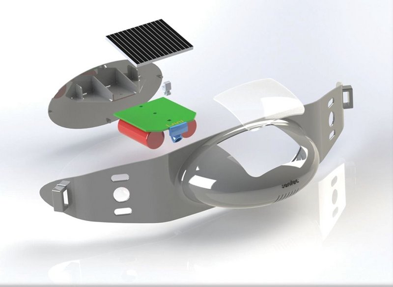 The Solar Owl is a simple unit that is maintenance free.