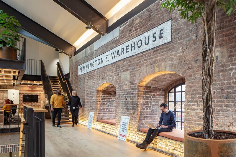 Pennington Street Warehouse.