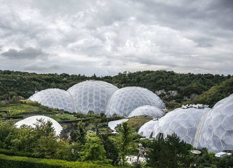 First the Eden Project built into the old clay quarries with Nicholas Grimshaw, now the project is going down, in search of natural heat sources.