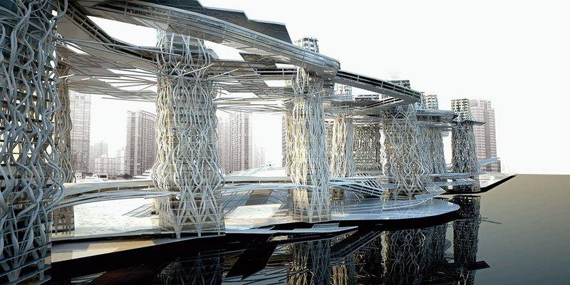 Work from Smart Geometry 2012 Studio, School of Architecture, Rensselar Polytechnic Institute.