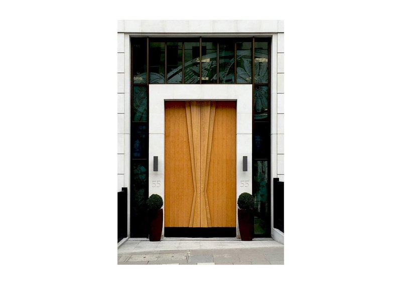 Shortlisted: Doors for 55 St James's Street