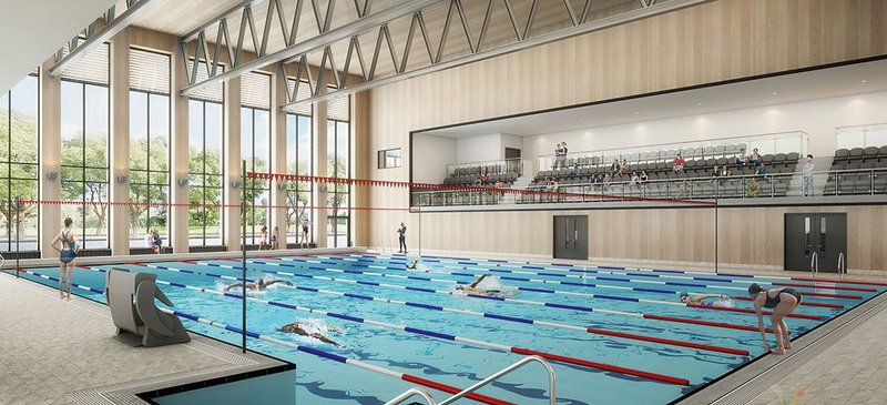 Passivhaus principles informed GT3's Spelthorne Leisure Centre design, where pool orientation shifted south from the usual north to capture solar gain.