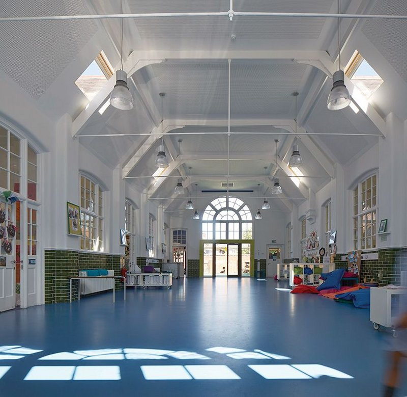 Robert Fitzroy Academy: Edwardian, 1950s and 1970s buildings called for a combination of renovation, conversion and extension by Architype.