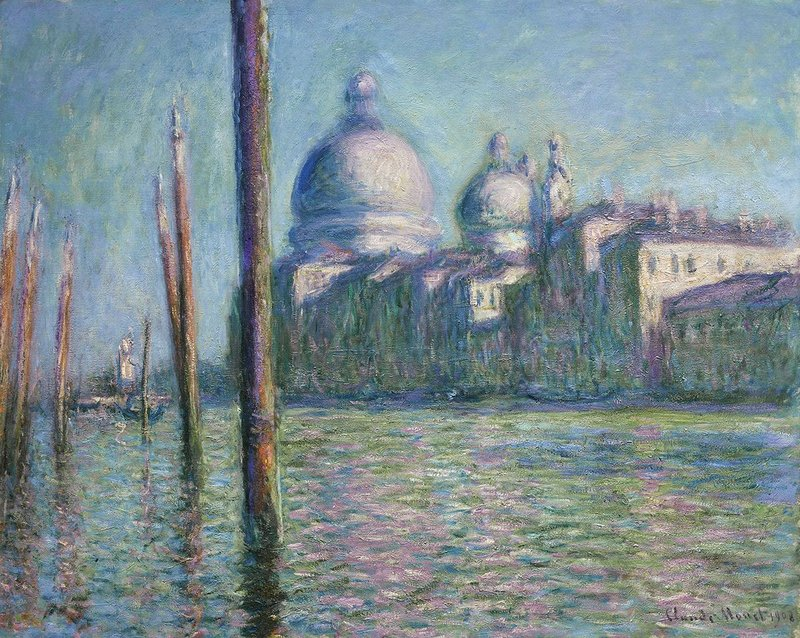 Claude Monet, The Grand Canal (Le Grand Canal), 1908. Nahmad Collection, Monaco