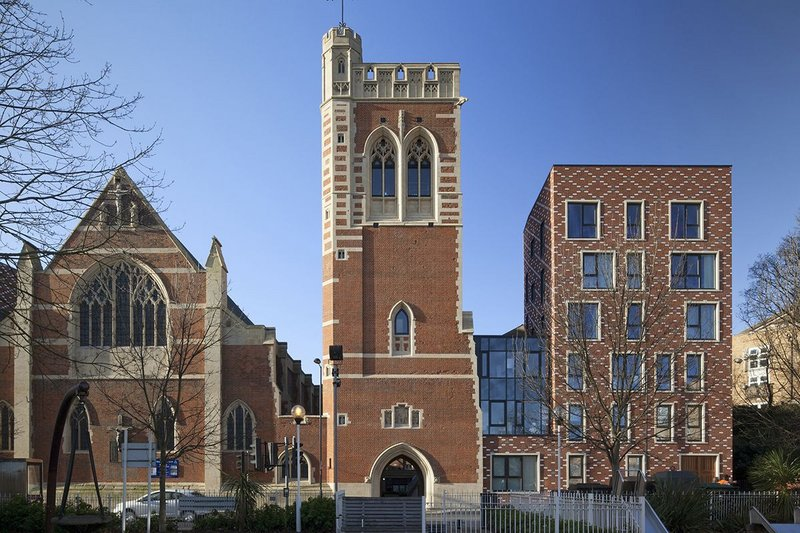 St Mary of Eton Church. Click on the image.