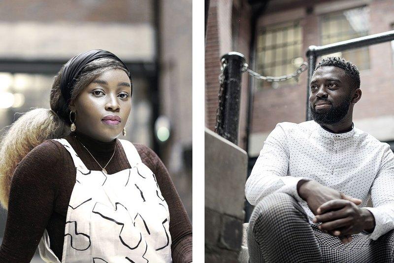 Left: Lisa Lucy Gakunga of Kiondo. Right: Andre-Donovan N Reid of Kiondo.