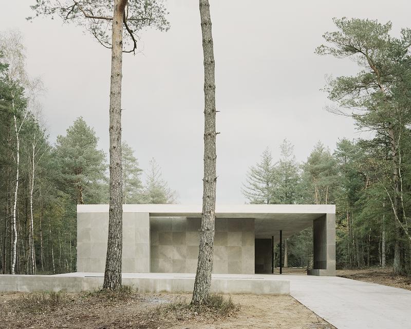 Loenen Pavilion designed by KAAN Architecten for the Netherlands War Graves Foundation ©Simone Bossi