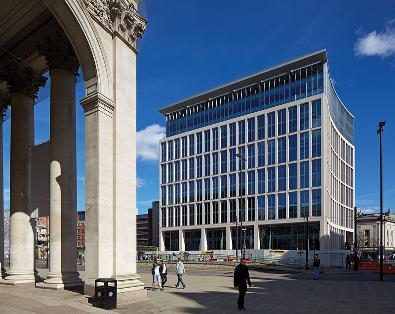 Glenn Howells Architects' One St Peter's Square development in Manchester.