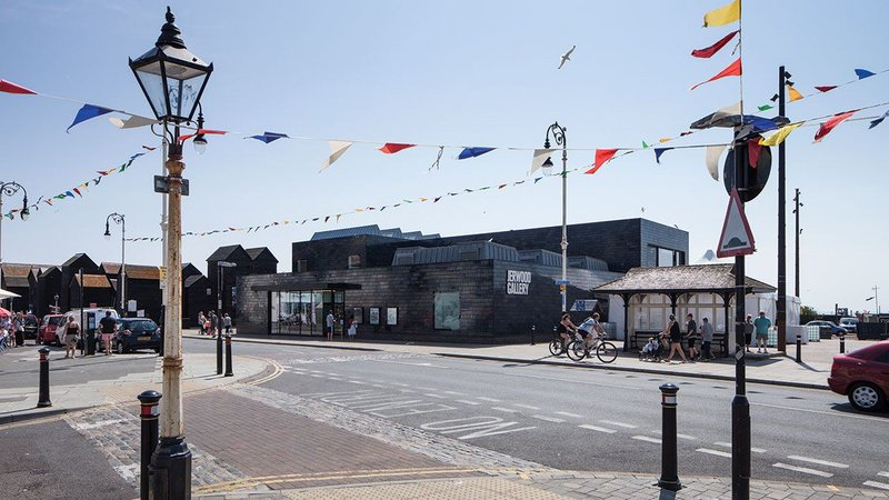 The Jerwood Gallery in Hastings.
