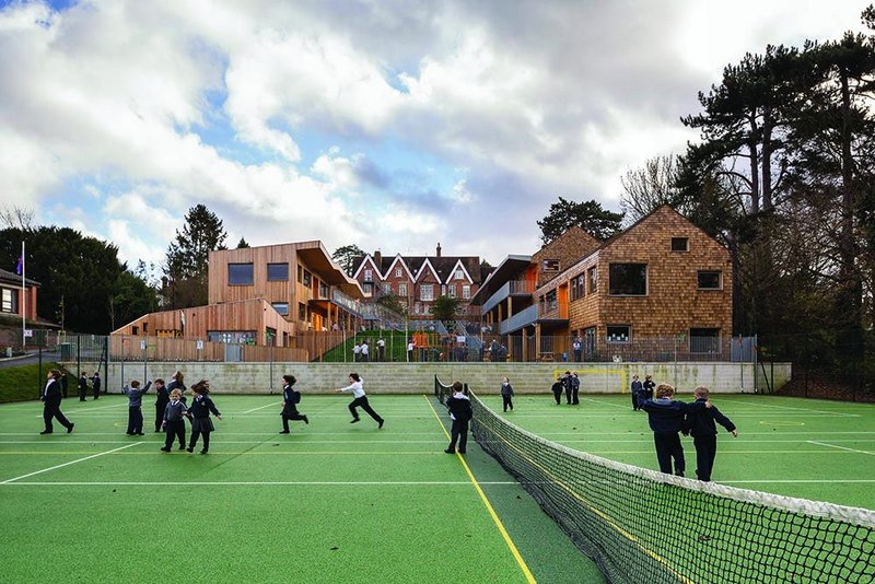 The Ritblat Building, Hilden Grange Preparatory School, Tonbridge