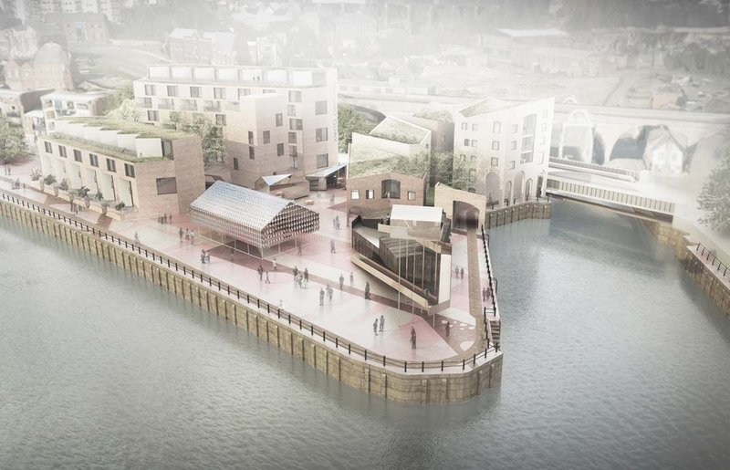 Newcastle's Malmo Quay by AWP with Featherstone Young and Mikhail Riches Architects.