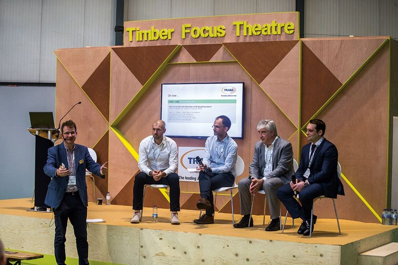 Presentation at the Timber Focus Theatre.