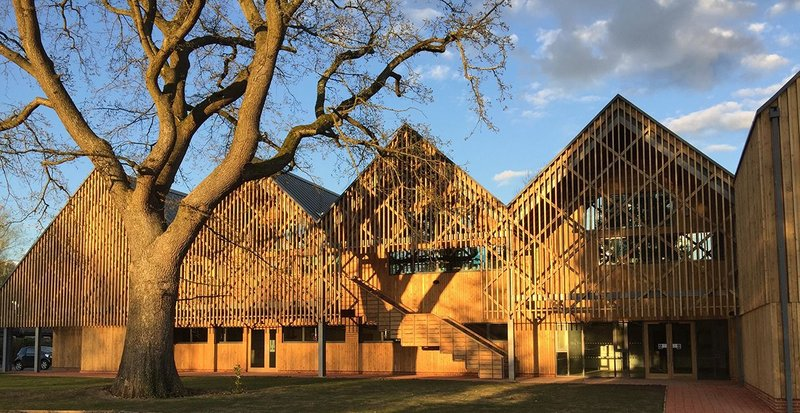 Bedales School of Art & Design Building by Feilden Clegg Bradley Studios.