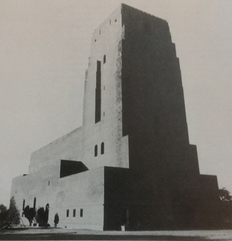 St Martins Garrison Church, New Delhi, India. Designed by Arthur Shoosmith.