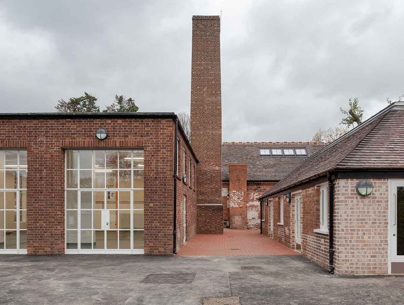 Historic buildings at Harrow Arts Centre