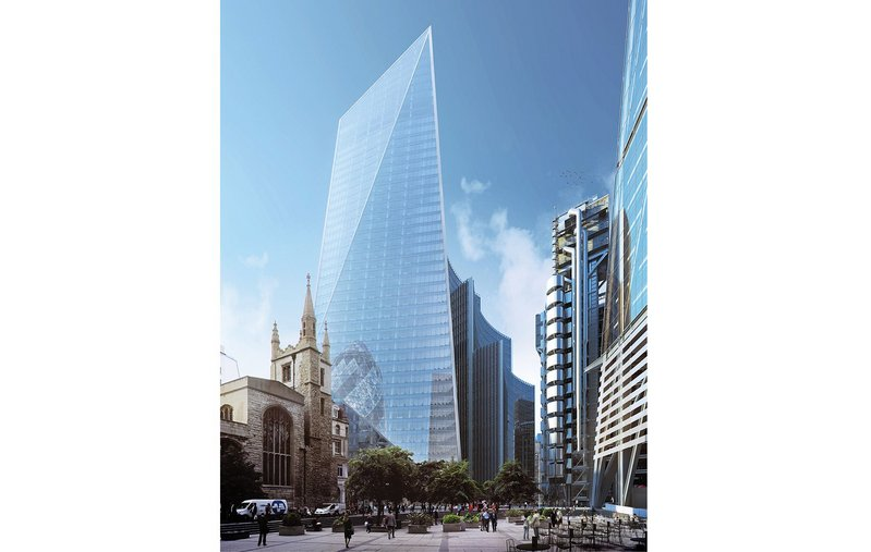 Tough new BREEAM standards are met by the impending Scalpel tower in the City of London's Lime Street by architect KPF and engineer Arup.