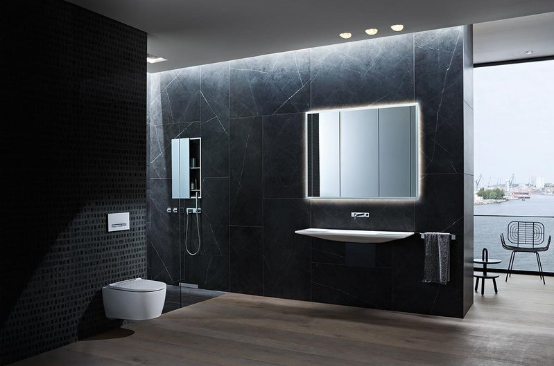 Geberit ONE: Integrating many components behind the wall creates an understated appearance, improved cleanliness and more space and flexibility in the bathroom.