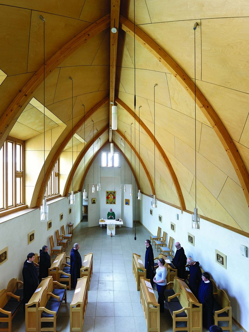 An early Acanthus Clews project for Finlay, a chapel for Mucknell Abbey.